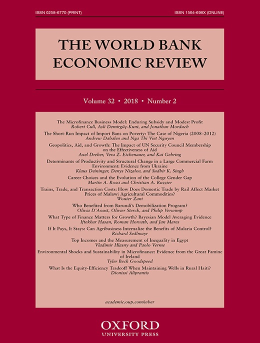 書籍:The World Bank Economic Review