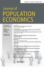 書籍:Journal of Population Economics